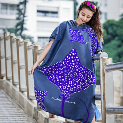 Toalla Poncho Scuba-Gifts EAGLE RAY